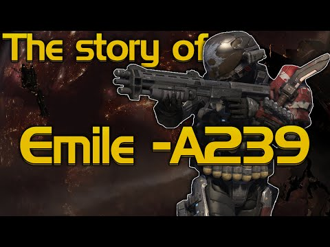 The story of Emile-A239 [Halo: Reach]