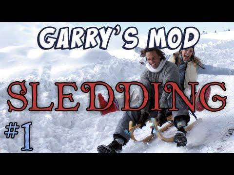 Garry's Mod - Sledding Part 1 - Hill Dancing