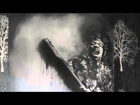 Jimi Hendrix - original painting for sale