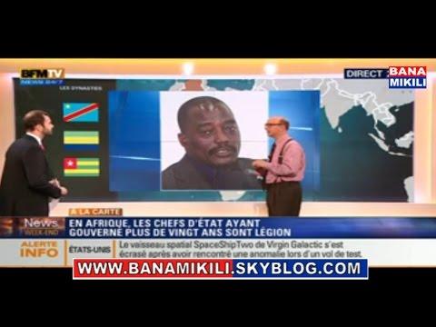 Les médias occidentaux commencent à envisager le départ de Kabila par un soulévement