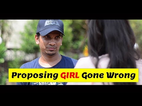Proposing a Girl Gone Wrong | Funny Video