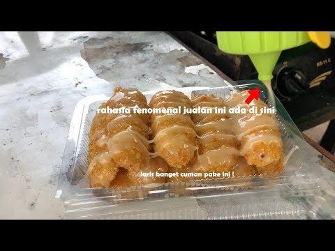 1 PORSI 10 RIBU !! LARIS BANGET PADAHAL CUMAN PAKE CAIRAN INI | INDONESIA STREET FOOD #457