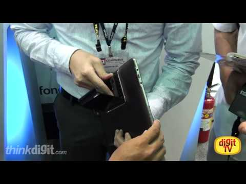 Closer look at the Asus Padfone