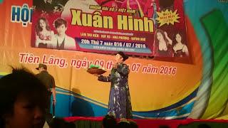 Xuân hinh tại hội chợ Tiên Lãng, video by xuân sang!