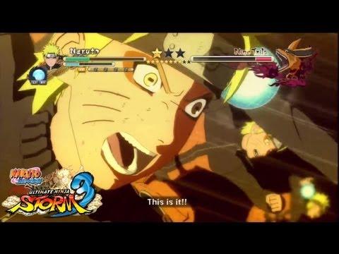 Naruto Shippuden: Ultimate Ninja Storm 3 - All Boss Battles part 1