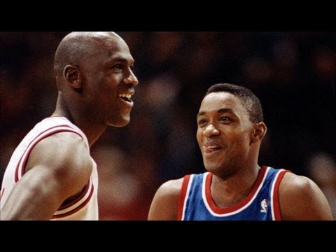 Isiah Thomas vs. Michael Jordan - The Sports Retort