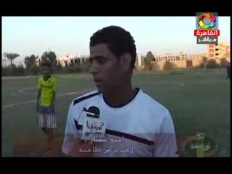 مركز شباب طامية يتعادل مع بترول أسيوط - أحمد صادق