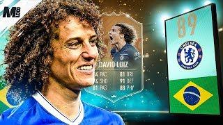 FIFA 19 FLASHBACK LUIZ REVIEW | 89 FLASHBACK LUIZ PLAYER REVIEW | FIFA 19 ULTIMATE TEAM