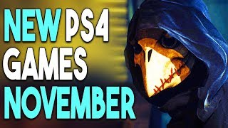 Top 12 BIG PS4 Games Coming in NOVEMBER 2018