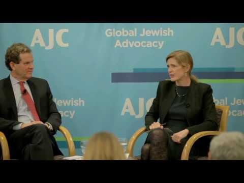 Samantha Power Addresses AJC Board of Governors 02/10/2014