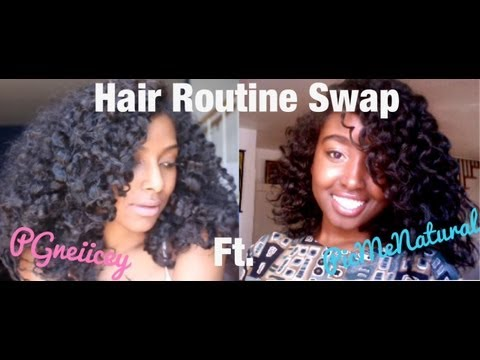 Hair Routine Swap with PGneiicey | *NEW TAG* |