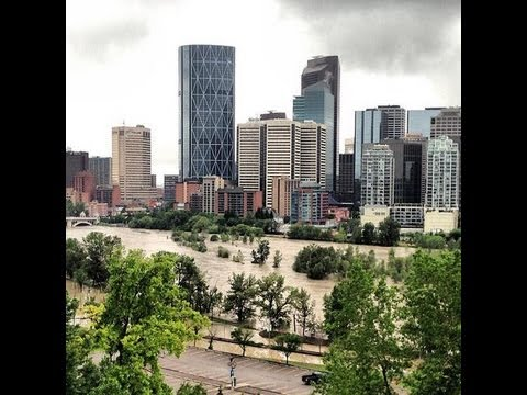 "Calgary Flooding - Alberta Floods - Canmore Bragg Creek High River Floods Flood Evacuation Alert ~ State Of Emergency 2013 ""Highways have been rendered usele..."