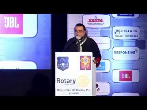 Advertising Film Director Prahlad Kakkar at Rotary International District 3140's WOW DISCON 2015