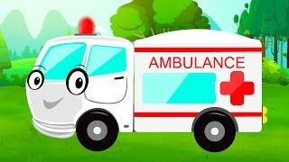 Ambulance  Car Garage  Garage Game  Video for Chil
