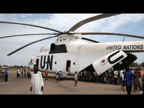 South Sudan crisis UN helicopter crashes near Bentiu