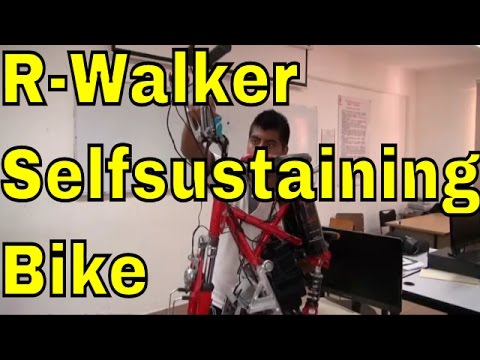 R-Walker Free Energy Selfsustaining Electric Motor Bike from Mexico