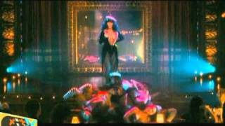 Christina Aguilera and Cher share spotlight in Burlesque (2010)