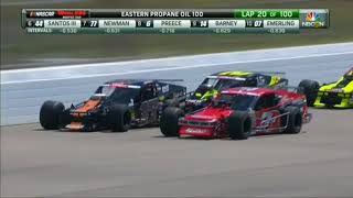 NASCAR Whelen Modified Tour 2018. New Hampshire Motor Speedway. Full Race