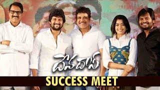 Devadas Movie  Success Meet | Nagarjuna | Nani | Rashmika Mandanna | Aakanksha Singh #Devadas