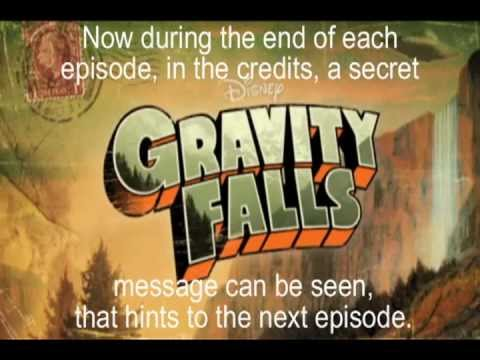 Gravity Falls Season Gravity Falls Intro Secrets