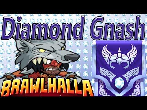 Brawlhalla - Diamond Tier Gnash Gameplay