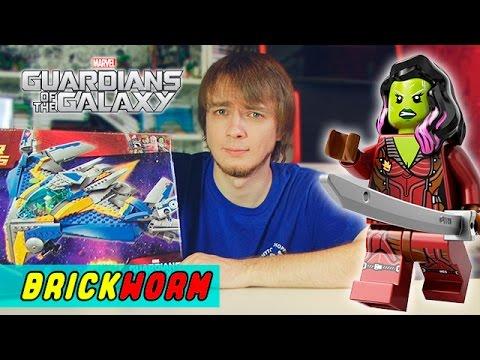 LEGO The Milano Spaceship Rescue (Стражи Галактики) - Brickworm