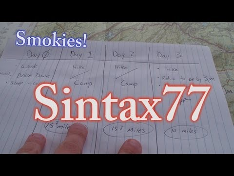 Feedback!  Smoky Mountains Backpacking Trip Ideas - 2 Nights, 3 Days Hiking