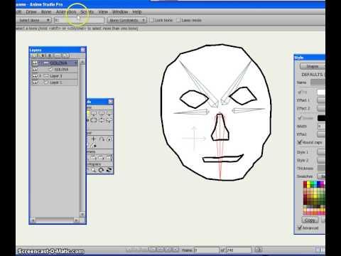 Как сделать простой мультик в anime studio