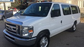 2013 Ford E-350 XLT Econoline Van 15 Passenger Van Elite Auto Outlet Bridgeport Ohio
