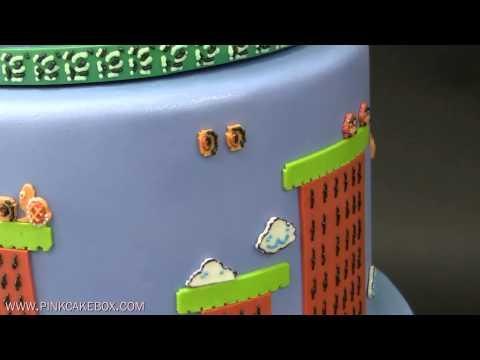 Mario Bros, Tarta De Fondant. Mario Bros Cake