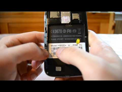 Fake SAMSUNG Galaxy S4 with QuadCore CPU & Android 4.2 OS- Feiteng H9500+ - Review + Unboxing [HD]