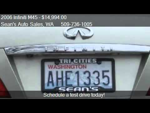 2006 Infiniti M45 45 Luxury - for sale in Kennewick, WA 9933