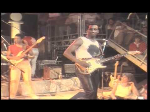 David Sanborn - Guitar Solo by Hiram Bullock / Rush Hour, Ohne Filter Live 1986 (5.)
