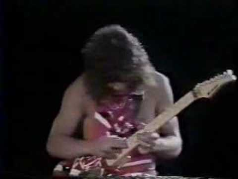 Eruption Guitar Solo--Eddie Van Halen Video