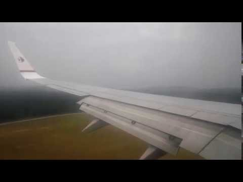 Malaysia Airlines MH1437 Boeing 737-800 9M-MLD LGK-KUL Landing Runway 14L