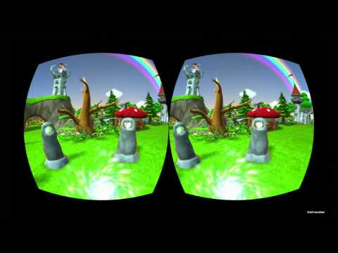 Oculus Rift - Cartoon World Demo