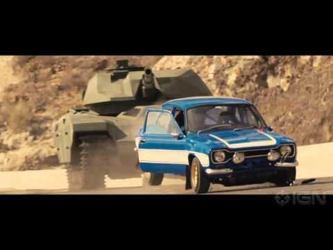 Fast & Furious 6 – Brian Versus A Tank
