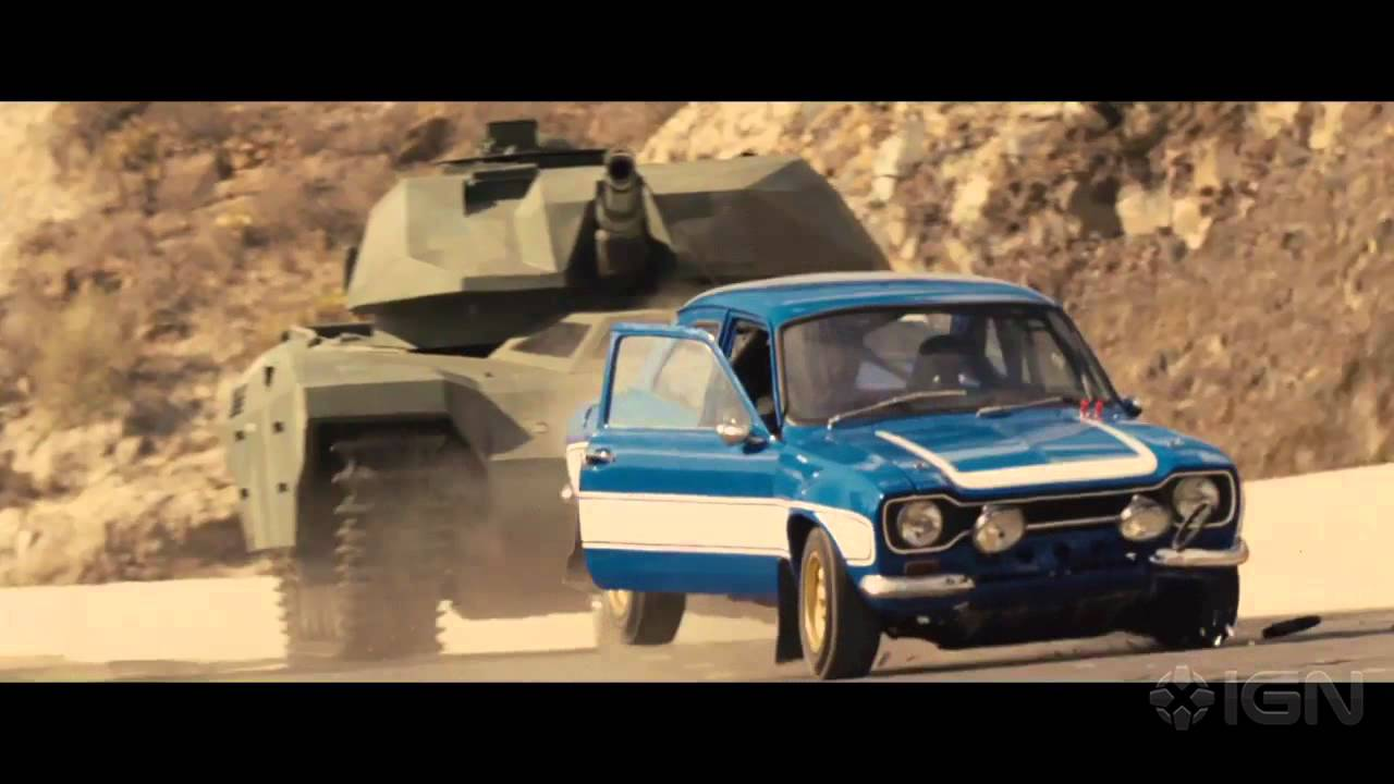 Fast 6: Brian Saves Roman Clip - YouTube