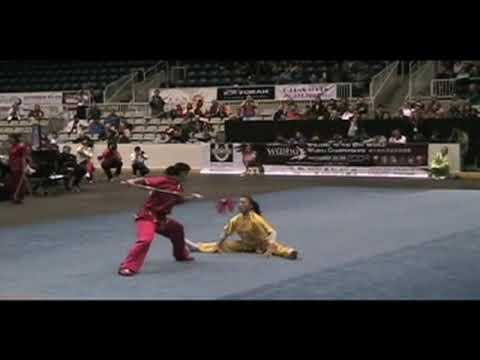 10th World Wushu Championships - Women's Duilian China