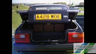 Scene in Swindon Report on the Austin Montego 1984