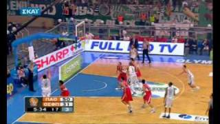 PANATHINAIKOS-OLYMPIAKOS 73-54 PANATHINAIKOS HIGHLIGHTS