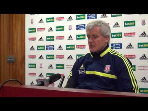 Mark Hughes Press Conference: Manchester City