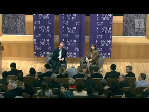 At NYU Stern: Eric Schmidt, Executive Chairman, Google, Inc. and Maria Bartiromo, Anchor, CNBC