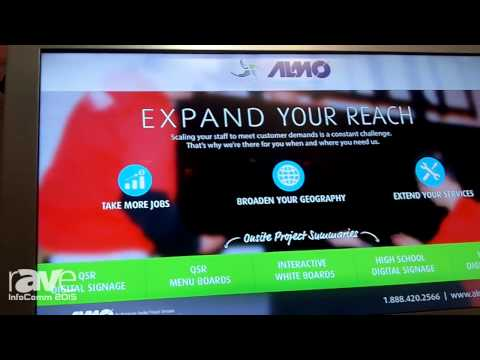 InfoComm 2015: Almo and Touch Systems Integrate Touch Technology