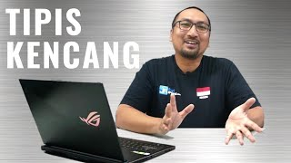 Review Laptop Gaming Azka Corbuzier: ASUS ROG Zephyrus S GX531GX - Indonesia