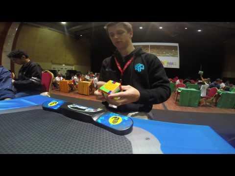 6x6 Rubik's Cube World Record: 1:20.03