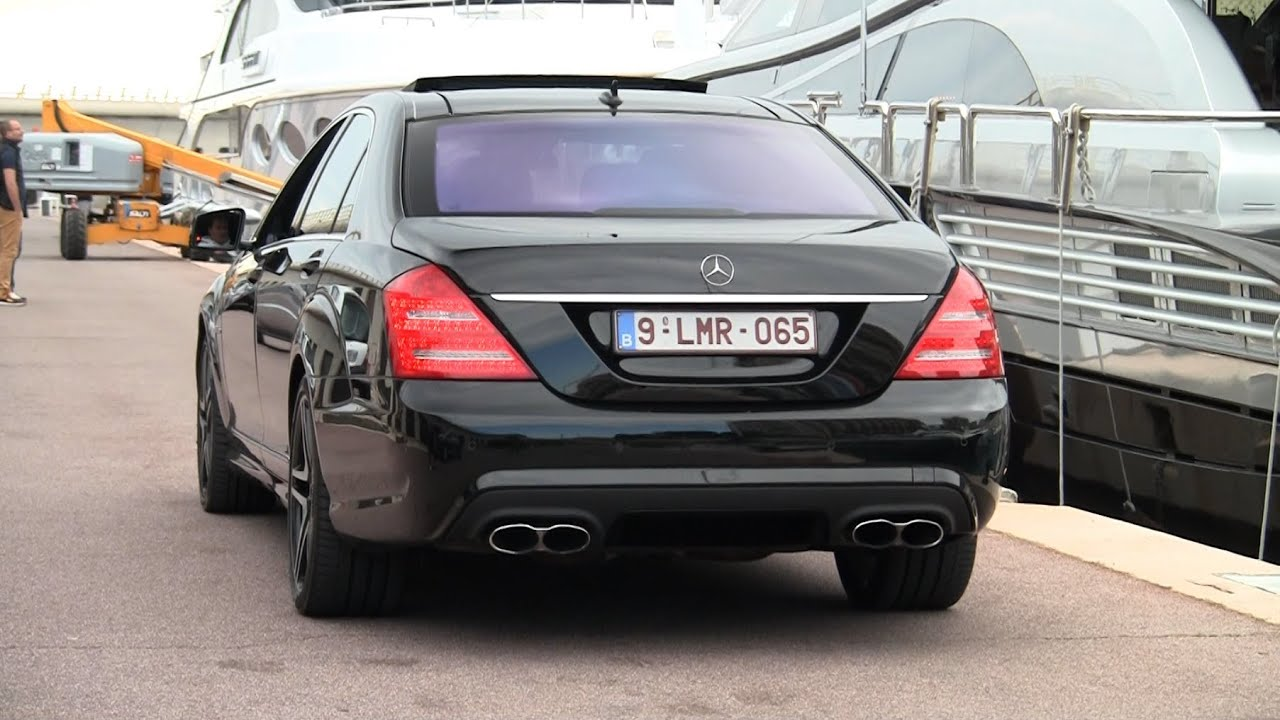 Mercedes-Benz S65 AMG V12 Biturbo Sound! - YouTube