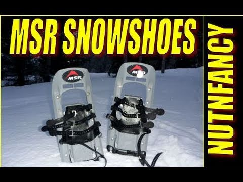 "MSR Snowshoes: ""Wilderness Choice"" by Nutnfancy"