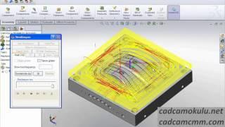 Solidcam Milling 3D HSM 1 Kaba Operasyonları