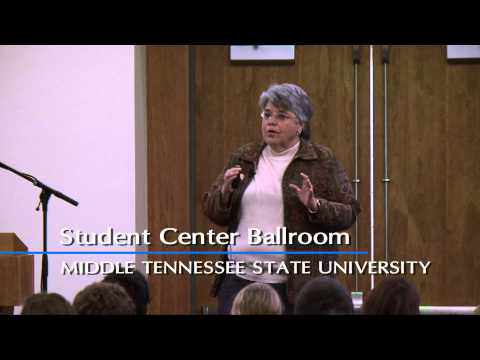 Renowned Blood Spatter Expert Delivers MTSU Forensics Lecture